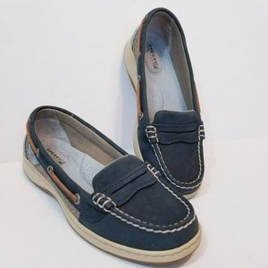 Sperry Top-Sider Women Loafers Boat Shoes Navy sz6